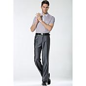 De las mujeres Pantalones Traje-Simple Microelástico-Rayón
