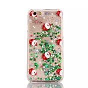 Pro iPhone X iPhone 8 iPhone 8 Plus iPhone 7 iPhone 6 Pouzdro iPhone 5 Pouzdra a obaly S plynem Průsvitný Vzor Zadní kryt Carcasă Vánoce