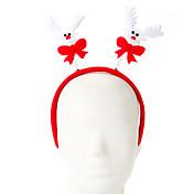 1 PCのスポンジのエルクのデザインの髪のフープクリスマスオーナメントのパーティーの供給