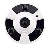 strongshine®2.0 MPネットワークHD 180度の広角パノラマIRドームカメラ