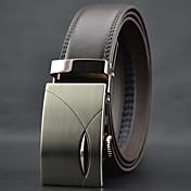 Hombre Cuero Cinturón de Cintura Trabajo / Casual Todas las Temporadas