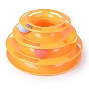 猫用おもちゃ ペット用おもちゃ ボール型 インタラクティブ タワー型ボール玩具 プラスチック