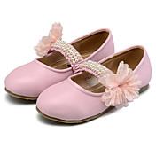 Chica Zapatos Semicuero Primavera Otoño Zapatos para niña florista Confort Bailarinas Cuentas Banda Flor para Boda Casual Fiesta y Noche