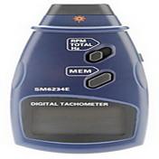 profesional de láser digital de fotos sin contacto tacómetro rpm tacómetro (2,5 ~ 999.9rpm, 0,1 rpm / 1 rpm)
