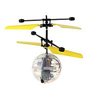 LED-belysning Flyvende gadget Minsker stress Legetøj Cirkelformet Luftfartøj Fluorescerende Selvlysende i mørke Drenge Pige Stk.