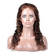 Mujer Pelucas de Cabello Natural Cabello humano Encaje Completo Encaje Frontal Integral sin Pegamento Frontal sin Pegamento 130% 150%