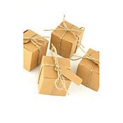 キュービックカード用紙好きのホルダー好きの箱 - 50結婚式の好意