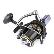 Carrete de la pesca Carretes para pesca spinning 4.1:1 14 Rodamientos de bolas Intercambiable Pesca de Mar-GH8000