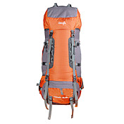 85 L バックパッキング用バックパック バックパックカバー リュックサック 登山 キャンピング&ハイキング 防水 防雨 耐久性 多機能の ナイロン メッシュ OSEAGLE