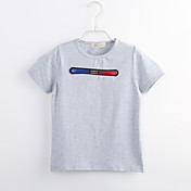 男の子 カジュアル/普段着 ゼブラプリント コットン Tシャツ 夏 半袖