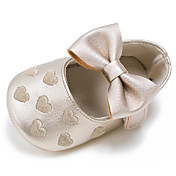 キッズ 赤ちゃん フラット 赤ちゃん用靴 レザーレット 春 秋 結婚式 カジュアル ドレスシューズ パーティー 赤ちゃん用靴 リボン かぎホック フラットヒール フクシャ レッド グリーン ブルー ピンク フラット