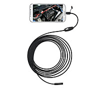 3 en 1 6 leds 5.5mm 5m androide endoscopio otg micro usb inspección cámara ip66