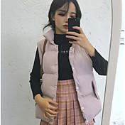 サイン〜韓国版は薄型の襟ノースリーブベストベストポケット