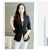 Mancha 2017 nuevo traje corto de la hembra corta desgaste de manga larga delgada temperamento femenino femenino versión coreana del traje