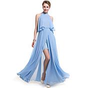 Mujer Tallas Grandes Playa Boho Gasa Corte Swing Vestido - Separado, Un Color Maxi