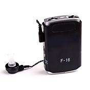 軸索F-16の新しい小型補聴器補助音声アンプ耳のケアaudiphone調整可能なトーン