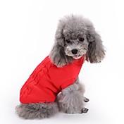 Gato Perro Suéteres Ropa para Perro Clásico Mantiene abrigado Sólido Rojo Verde Rosa Azul Claro Azul Real Disfraz Para mascotas
