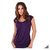 シャツの袖なしのTシャツを底ヨーロッパやアメリカで新しい爆発モデルスリムラウンドネック