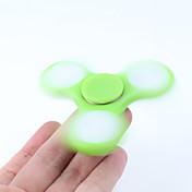 Fidget spinners Hilandero de mano Juguetes Tri-Spinner Spinner LED Alta Velocidad Alivia ADD, ADHD, Ansiedad, Autismo Por matar el tiempo