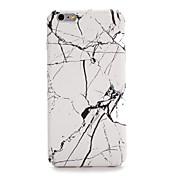Para la PC dura de mármol de la contraportada del patrón de la cubierta del caso del iphone 7 7plus de la manzana 6s más 6 más 6s 6