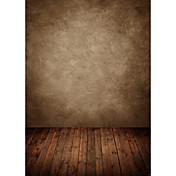 5 * 7フィートの大きな写真の背景の背景スタジオプロの写真家のための古典的なファッション木製の木製の床