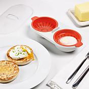 1 piezas El moho de bricolaje Other For para huevo Plástico Alta calidad Múltiples Funciones Cocina creativa Gadget