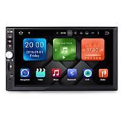 7インチ2dinクアッドコアアンドロイド6.0車のマルチメディアオーディオgpsプレーヤーシステム2GBのRAMと無線LAN 3g元のテレビの普遍的なdy7092