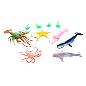 Juguete Educativo Modelismo y Construcción Animales Plástico