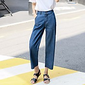 レディース ストリートファッション ハイライズ ストレート strenchy ジーンズ パンツ ゼブラプリント