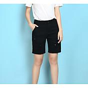レディース ストリートファッション ハイライズ ルーズ マイクロエラスティック ショーツ パンツ ゼブラプリント