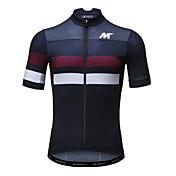 Mysenlan Maillot de Ciclismo Hombre Manga Corta Bicicleta Camiseta/Maillot Top Secado rápido Transpirable Poliéster Moda Verano
