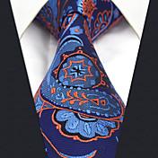 メンズ オールシーズン ヴィンテージ キュート パーティー オフィス カジュアル シルク ジャカード織 ネクタイ