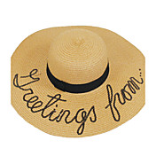 Mujer Primavera/Otoño Todas las TemporadasEmpapa Sombrero Moderno Artístico Simple Geométrico Clásico Vintage Bonito Fiesta Trabajo