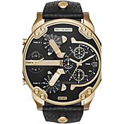 Hombre Pareja Reloj de Vestir Reloj de Moda Reloj de Pulsera Reloj Pulsera Reloj creativo único Reloj Casual Reloj Deportivo Reloj Militar