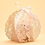 Redondo Cuadrado Creativo Papel perlado Soporte para regalo  con Cintas Estampado Cajas de regalos