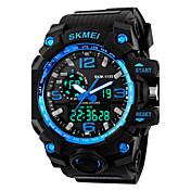 SKMEI 1155 Hombre Reloj Deportivo Reloj digital Digital Despertador Calendario Silicona Banda Negro
