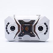 RC ドローン SBEGO-127 4チャンネル 6軸 2.4G - ラジコン・クアッドコプター LED照明 ワンキーリターン 360°フリップフライト ラジコン・クアッドコプター リモコン 1×マヌルネコ 1× USB充電ケーブル 1 USBケーブル ブレード 1 レンチ