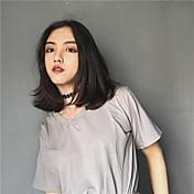 レディース カジュアル/普段着 春 夏 Tシャツ,シンプル ラウンドネック ソリッド コットン 半袖 薄手