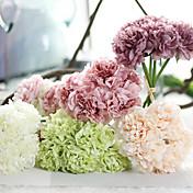 1 Pieza 1 Rama Seda Poliéster Peonías Flor de Mesa Flores Artificiales