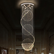 現代のクリスタルの天井のシャンデリアの屋内ペンダントライト吊りランプ電球の照明器具