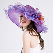 Pena Capacete-Casamento Ocasião Especial Festa/Noite Casual Fascinador Chapéus 1 Peça
