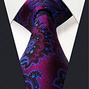 メンズ オールシーズン ヴィンテージ パーティー オフィス カジュアル 高品質 ファッション シルク ジャカード織 ネクタイ