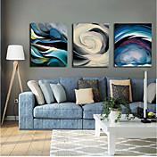 Impresión de lienzo Abstracto,Tres Paneles Lienzos Estampado Decoración de pared For Decoración hogareña