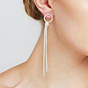 Mujer Perla artificial Diamante sintético Personalizado Sensual joyería película Joyería Destacada Moda Euramerican Cobre Forma de