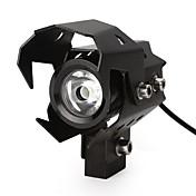 u8 led motorbike spotlightsオートバイヘッドライトハイローフラッシュビームヘッドライトランプ防水