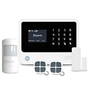 スマートホームwifi / gsmセキュリティ警報システムは、8つの有線および100の無線防衛ゾーンと100のスマートソケットをサポート