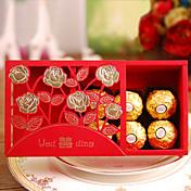 De Forma Cúbica Papel de tarjeta Papel perlado Soporte para regalo  Con Cajas de regalos Cajas de Regalos