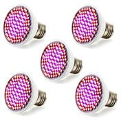 5本12w 85-265v smd 2835 ledライトグレー&花水菜園の照明器具のランプ
