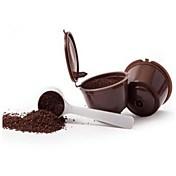 3pcs / pack 150 veces cápsula de café Nescafé Dolce Gusto cápsula reutilizable cápsulas Dolce Gusto Dolce Gusto