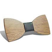 Masculino Contemprâneo Algodão Gravata Borboleta,Listrada